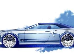 Bentley Mulsanne Vision Convertible Concept Previewed at Pebble Beach Concours
