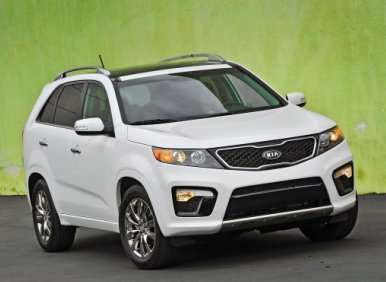 Fast Five: Best-Looking SUVs of 2012