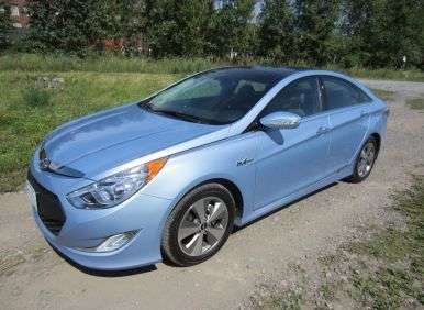 Road Test And Review   2012 Hyundai Sonata Hybrid