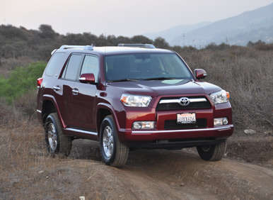 2012 Toyota 4Runner Review: How It Drives