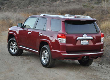 2012 Toyota 4Runner Review: What Itu0027s Up Against