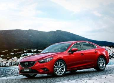 All-new 2014 Mazda Mazda6 Revealed in Russia