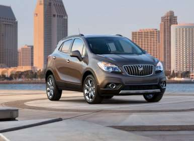 EPA: All-new 2013 Buick Encore Gets 33 mpg