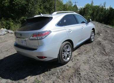 2013 lexus rx 450h hybrid first drive review. Black Bedroom Furniture Sets. Home Design Ideas