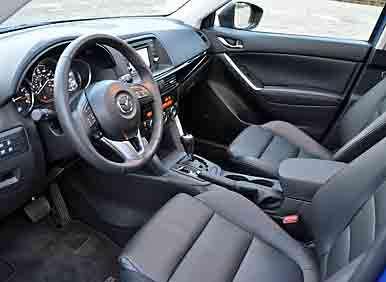 2013 Mazda CX 5 Review: Interior