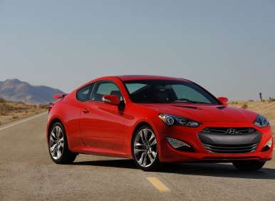 Best V6 And 6 Cylinder Sports Cars Hyundai Genesis Coupe 38