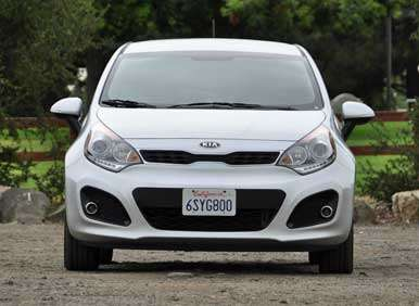 2012 Kia Rio 5-Door Road Test and Review