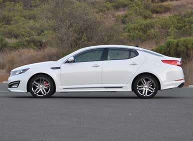 2013 Kia Optima Turbo Road Test And Review Autobytel Com
