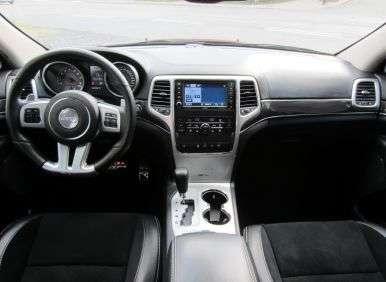 2012 Jeep Grand Cherokee SRT8: Interior