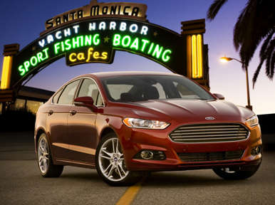 First Drive: 2013 Ford Fusion