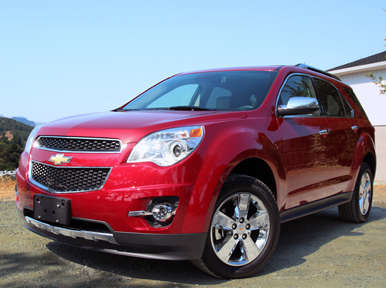 2013 Chevrolet Equinox Road Test & Review