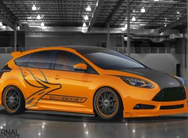 2012 SEMA Show: Tuners Adjust Their Ford Focus