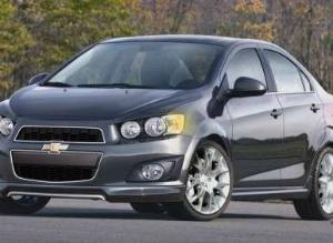2013 Chevy Sonic Dusk: Production Model to Debut in Vegas