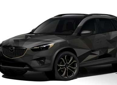 2013 mazda cx 5 gets the sema treatment. Black Bedroom Furniture Sets. Home Design Ideas