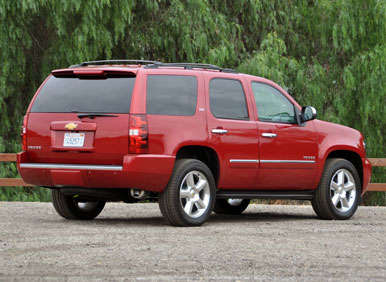 2013 chevrolet tahoe road test and review. Black Bedroom Furniture Sets. Home Design Ideas