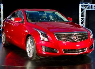 Motor Press Guild Names 2013 Cadillac ATS Its Vehicle of the Year