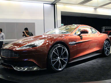2014 Aston Martin Vanquish Preview: Los Angeles Auto Show