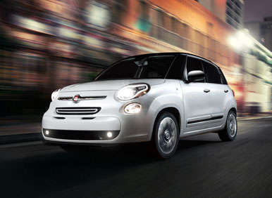 2014 Fiat 500L Preview: 2012 Los Angeles Auto Show