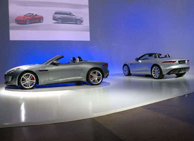 2014 Jaguar F-Type Preview: 2012 LA Auto Show