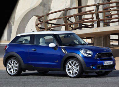 2014 MINI Cooper Paceman Preview: 2012 Los Angeles Auto Show