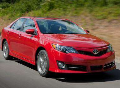 MSRP Adjustments Announced for 2013 Toyota Camry
