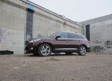 2013 Infiniti JX Road Test and Review