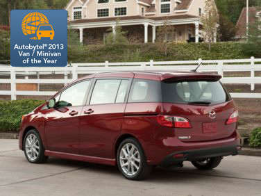 Autobytel 2013 Minivan of the Year: Mazda5