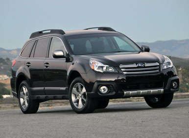 2013 subaru outback road test and review. Black Bedroom Furniture Sets. Home Design Ideas
