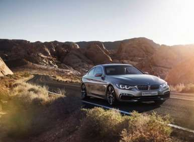 2014 BMW Concept 4 Series Coupe