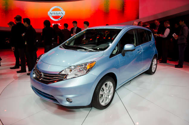 2014 Nissan Versa Note Preview: 2013 Detroit Auto Show
