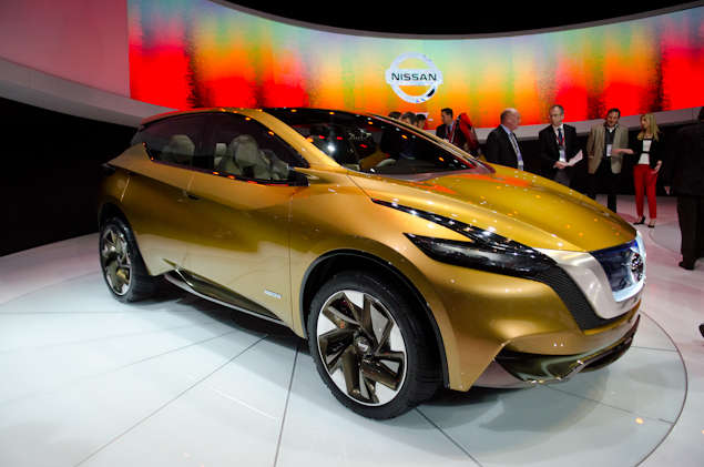 Nissan Resonance Concept Preview: 2013 Detroit Auto Show