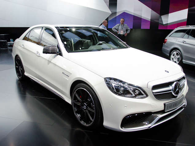 2014 Mercedes-Benz E63 AMG Preview: Detroit Auto Show