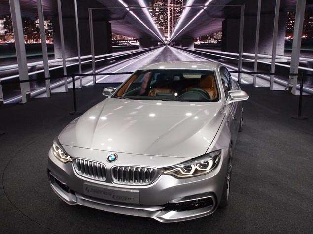 BMW Concept 4 Series Coupe Preview - Detroit Auto Show