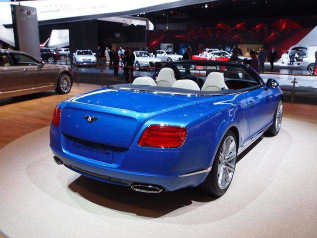 2014 Bentley Continental GT Speed Convertible Preview - Detroit Auto ...