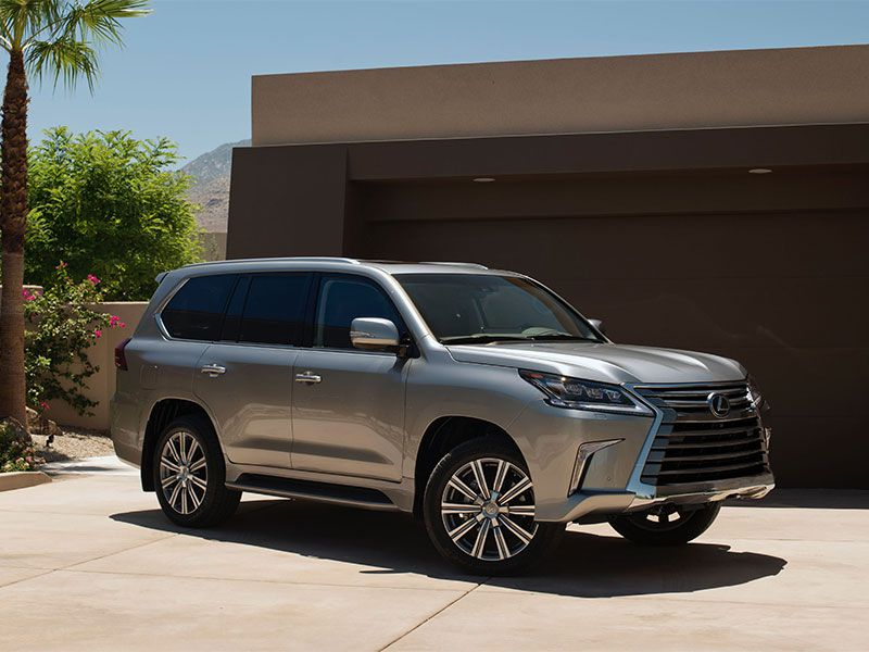 2019 Lexus Lx Heres The Thing About Toyotas Best Suvs With 3rd Row Seating