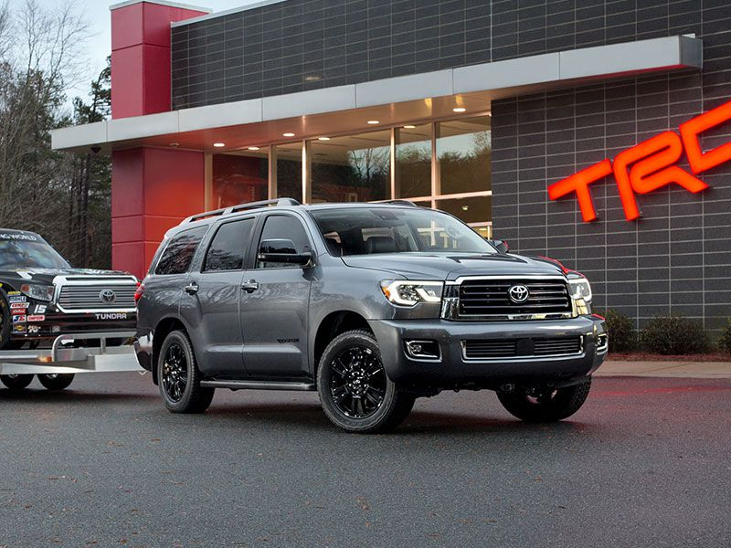 2018 Toyota Sequoia One Of The Best Suvs With 3rd Row Seating