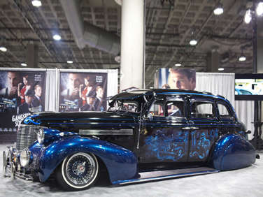 Gangster Squad Goes Old School with a Custom 1939 Chevrolet Master Deluxe