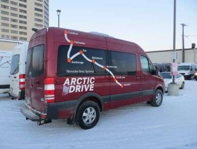 2013 Mercedes-Benz Sprinter Arctic Drive - Extreme Weather Testing for The Silver Star