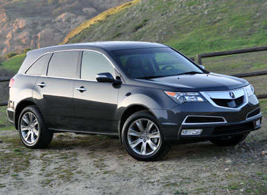 2013 acura mdx road test and review. Black Bedroom Furniture Sets. Home Design Ideas