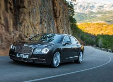 Keeping a Stiff Upper Lip at 200 MPH: The 2014 Bentley Flying Spur