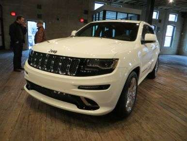 First Drive - 2014 Jeep Grand Cherokee SRT