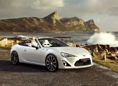 Geneva Motor Show: Toyota FT-86 Open Concept Offers Preview of Scion FR-S Convertible