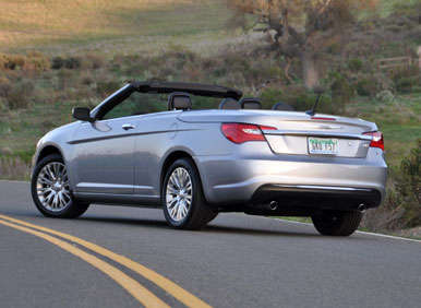 2017 Chrysler 200 Convertible Road Test And Review Design