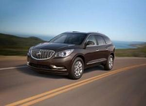 2013 Buick Enclave Achieves Safety Double Play