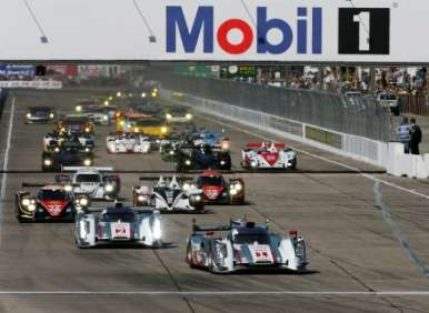 Audi, Corvette Racing Open 2013 ALMS Season with Sebring Victories