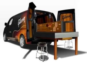 New York Auto Show: Gibson NV200 Mobile Repair & Restoration Van