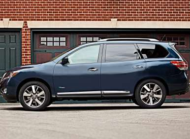 New York Auto Show: Nissan Adds Some Hybrid To The Pathfinder