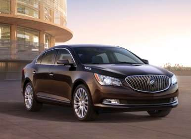 New York Auto Show: 2014 Buick LaCrosse Introduces Ultra Lux Interior