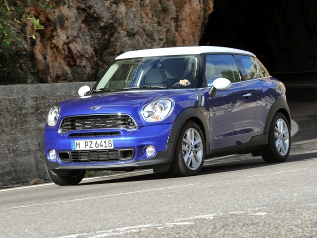 2013 MINI Paceman Reaches Dealerships