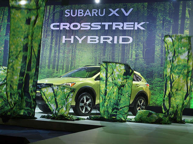 2014 Subaru XV Crosstrek Hybrid Preview: New York International Auto Show